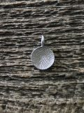 Mini Fingerprint Charm, White Gold, 10mm