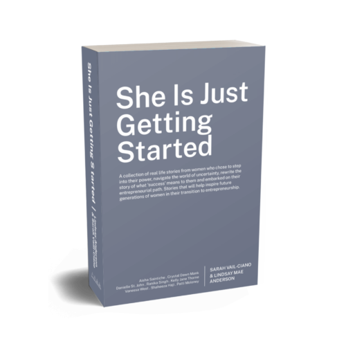 She Is Just Getting Started - Book